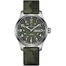 Hamilton 漢米爾頓 卡其野戰系列迷彩時尚腕錶(H70535061)