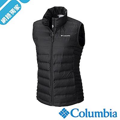 Columbia 哥倫比亞 女款-羽絨背心-黑色 UWR00050