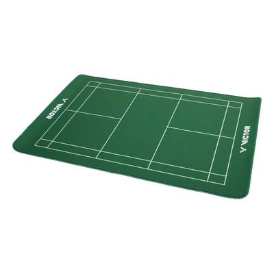 VICTOR 羽球場造型兩用桌墊-台灣製 滑鼠墊 勝利 C-P0042 綠