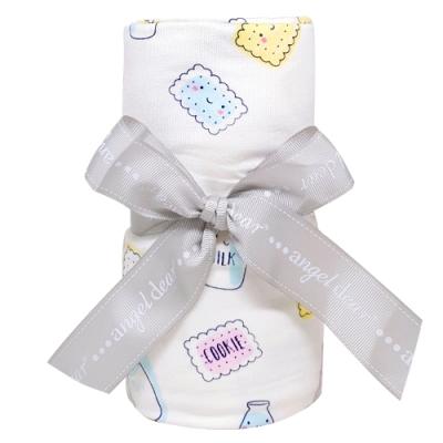 美國 Angel Dear 天絲竹纖維薄毯禮盒 (牛奶和餅乾)