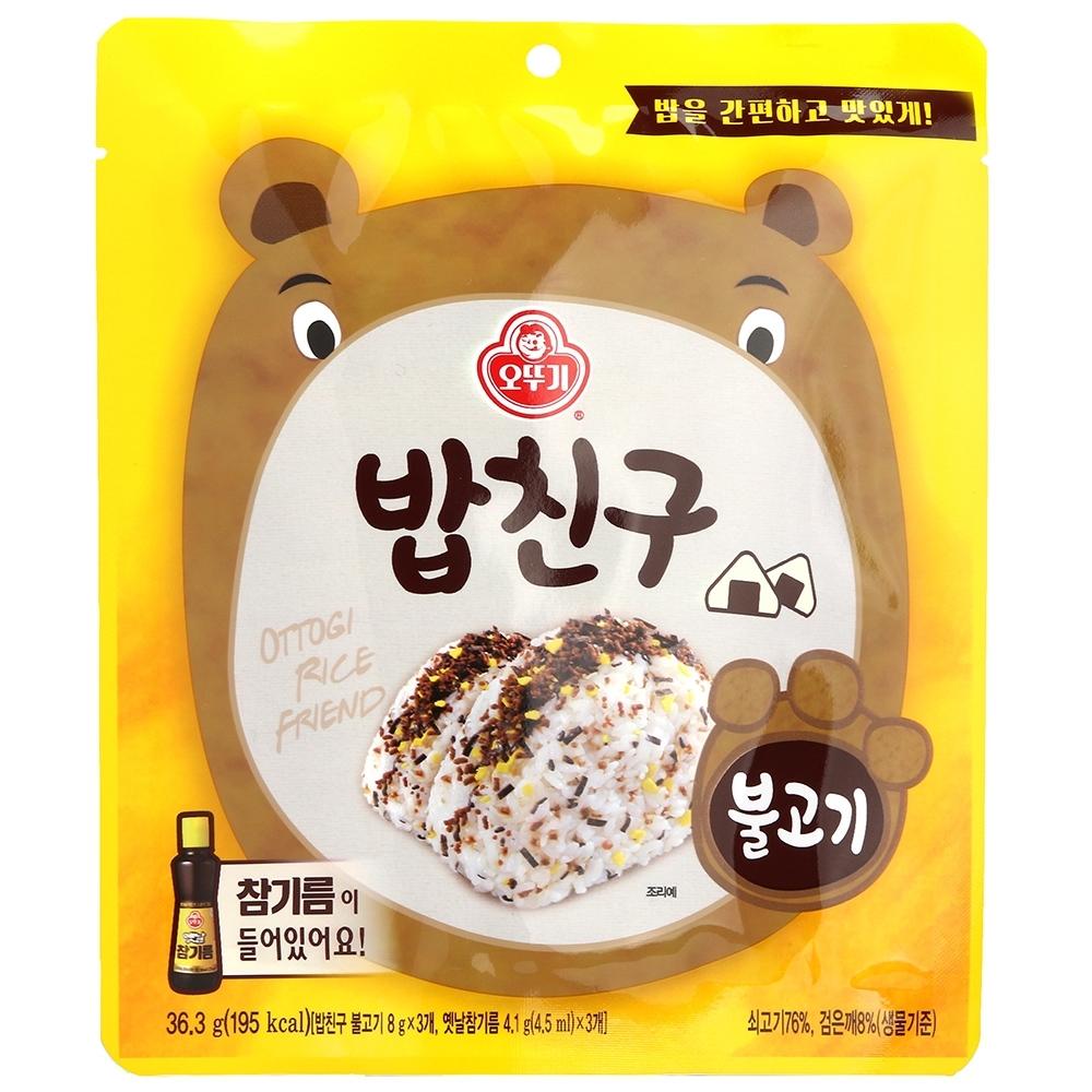 不倒翁  海苔香鬆-韓式烤肉風味(36.3g)