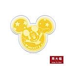 周大福 迪士尼系列 歡慶 90周年米奇金銀章(一組兩個)
