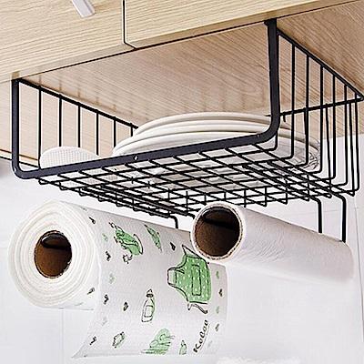 【E.dot】鐵藝櫥櫃紙巾雜物收納架