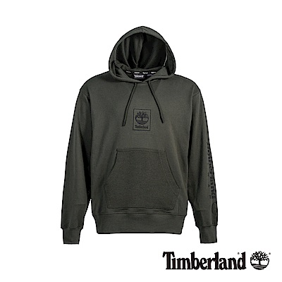 Timberland 男款泥炭色寬鬆連帽衛衣|A1YH5