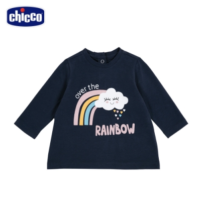 chicco-TO BE Baby-彩虹長袖上衣
