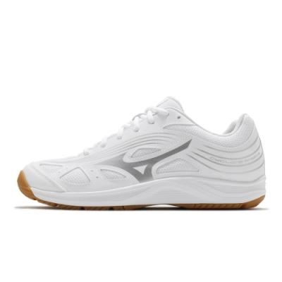 MIZUNO CYCLONE SPEED 男 排球鞋 白-V1GA218003