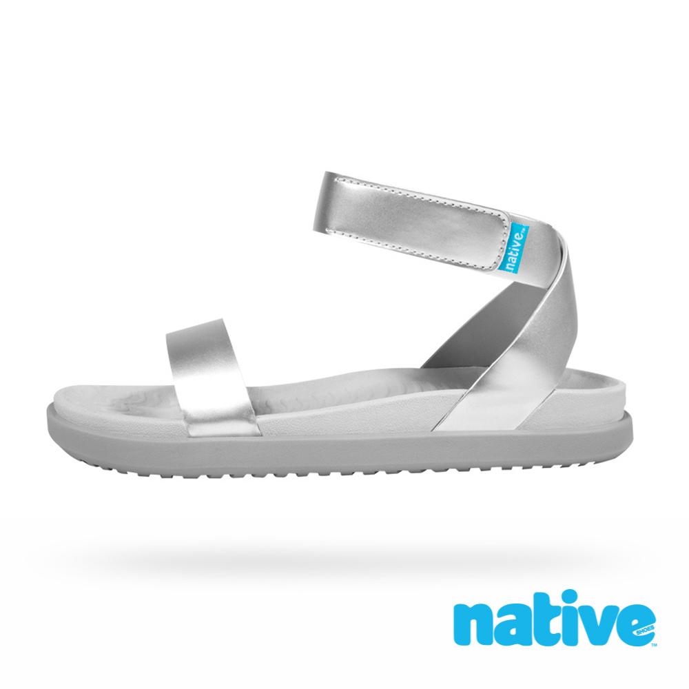 native JULIET METALLIC 女鞋-未來銀
