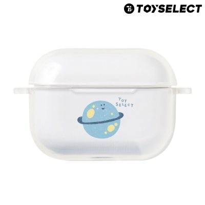 【TOYSELECT】Airpods Pro Smilie微笑太空星球透明保護套
