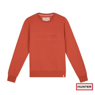 HUNTER - 女裝-圓領上衣 - 橘紅