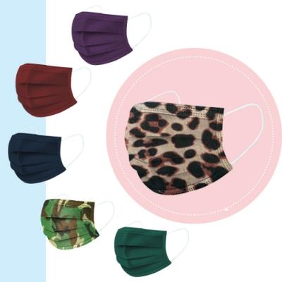 炫彩熔噴布高效防護清淨口罩(50片袋裝)