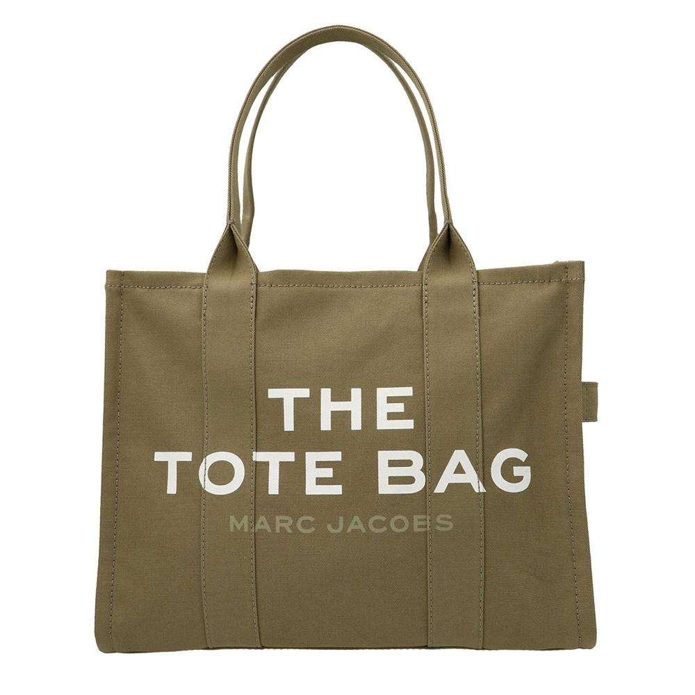 Marc Jacobs Traveler 大款帆布手提旅行托特包 石灰綠