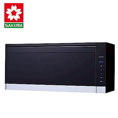 櫻花牌 Q7583XL 玻璃觸控面板90cm臭氧紫外線雙效型懸掛式烘碗機