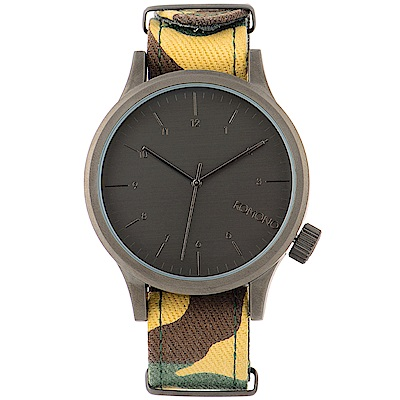 KOMONO Magnus Print 腕錶-叢林迷彩/46mm