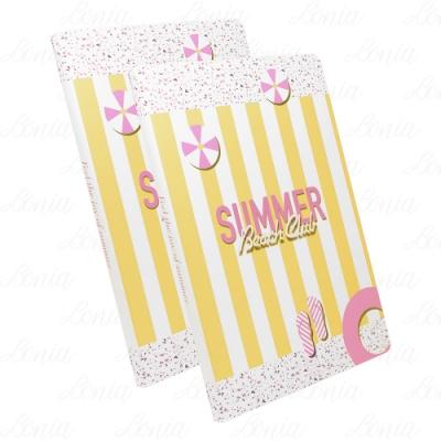 Dior 迪奧 Feel the joy of summer-Summer Beach Club條紋筆記本*2