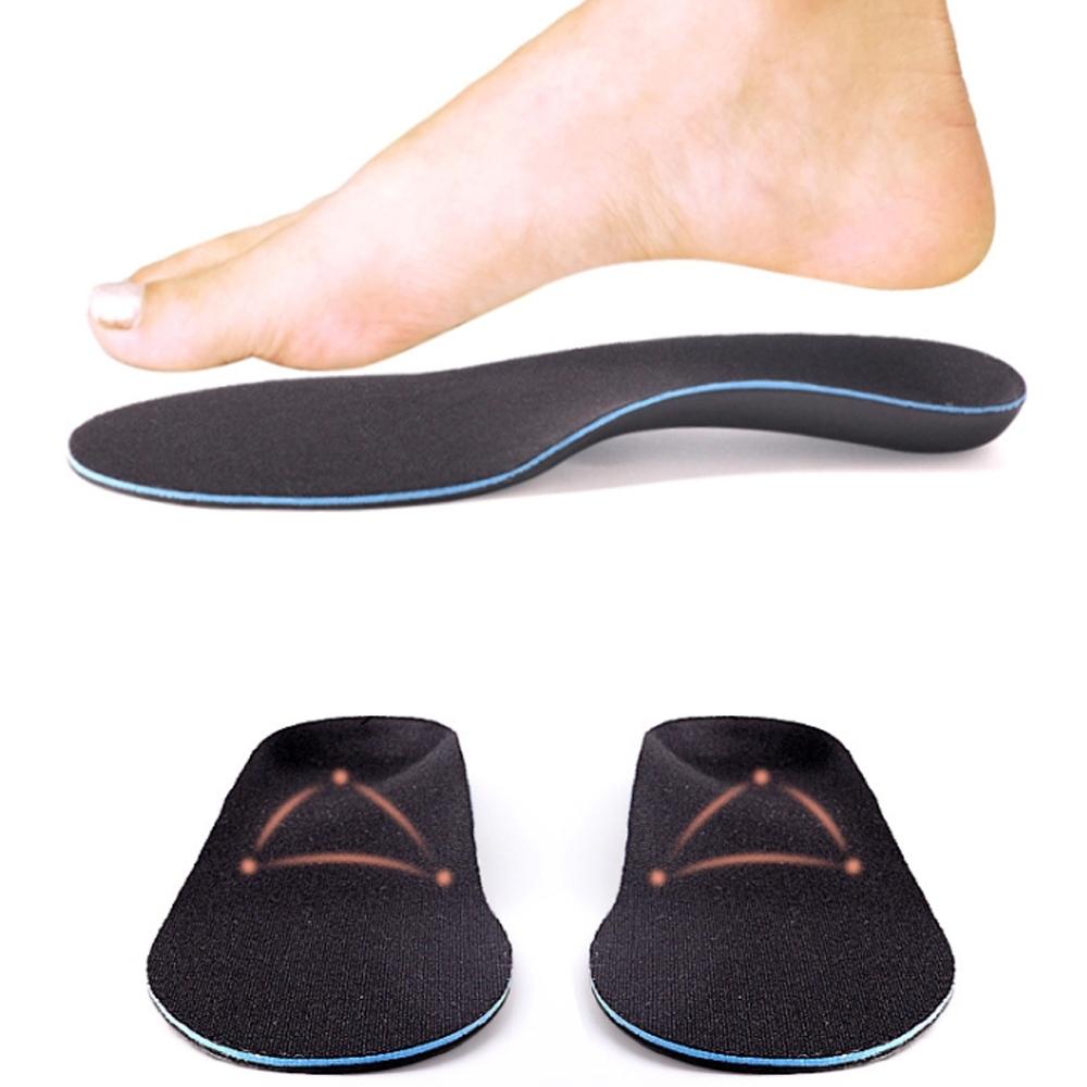 JHS杰恆社abe163新EVA扁平足美型鞋墊男女OX型腿小腿外翻成人內外八美體足弓墊