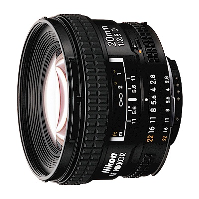 另贈防潮箱) Nikon AF 20mm f2.8D 定焦鏡頭公司貨