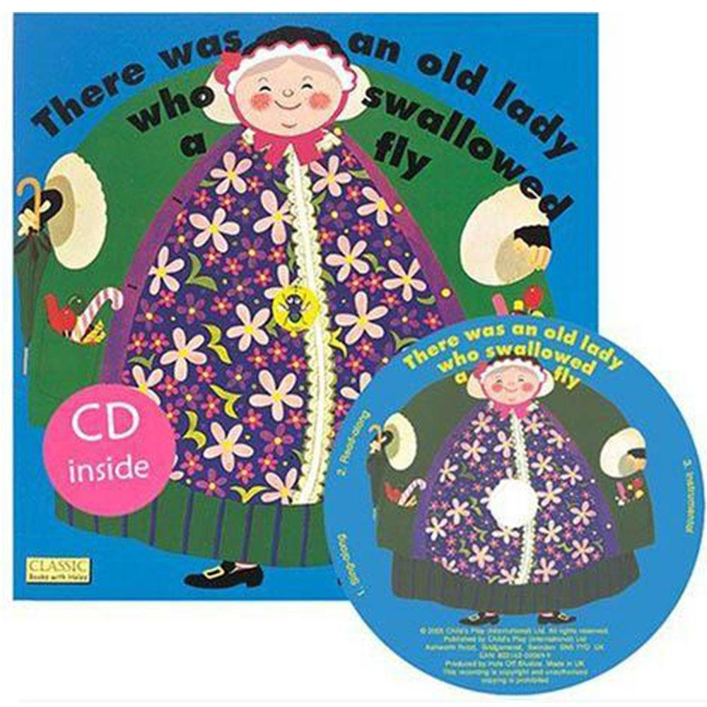 There Was An Old Lady Who Swallowed A Fly CD書