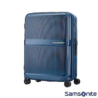 Samsonite新秀麗 24吋Dorsett極線條可擴充TSA硬殼行李箱(藍)