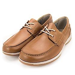 Clarks Fallston Style 男休閒鞋 棕