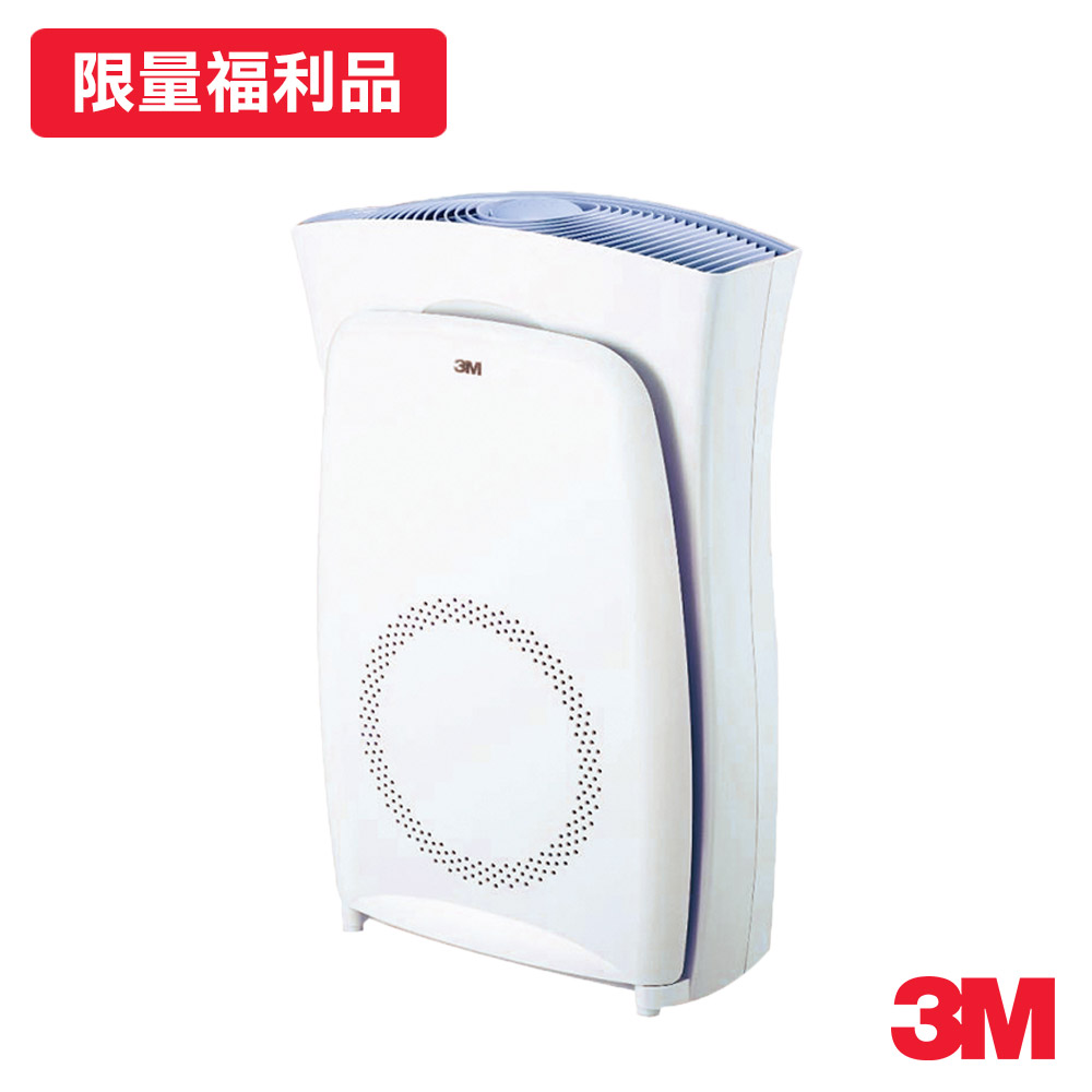 福利品 3M 8-19坪 超濾淨型空氣清淨機 CHIMSPD-03UCRC N95口罩濾淨原理