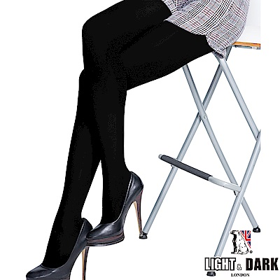 LIGHT & DARK 天鵝絨180丹全足褲襪(回饋5雙組)