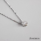 JINCHEN 純銀單鑽項鍊