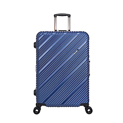 SKYLINE FRAME-28吋旅行箱-藍編織紋 OD9077A28RB
