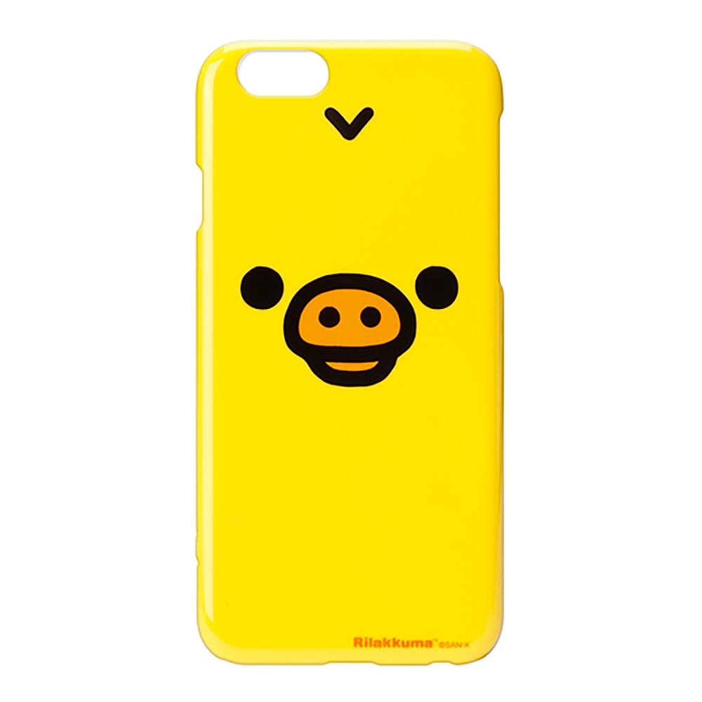 【日本 PGA】iPhone6/6S San-X 大臉系列 手機硬殼 - 小雞