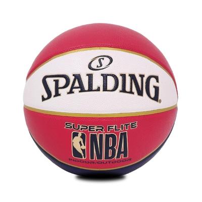 SPALDING 籃球 NBA Super Flite 斯伯丁 7號球 室內外 紅 白 藍 SPA76352