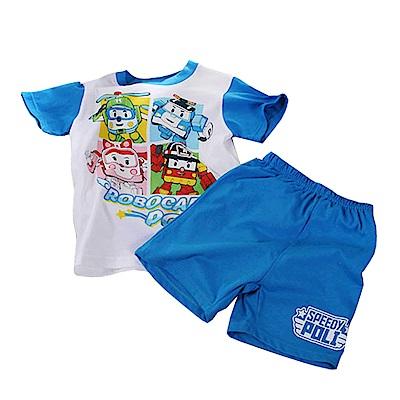 POLI純棉防蚊布套裝 藍 k50323 魔法Baby