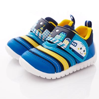 新幹線童鞋 輕量休閒學步鞋款 SE19831藍(寶寶段)