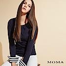MOMA 條紋袖口羅紋上衣