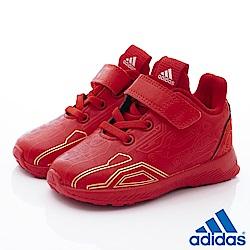 adidas童鞋 星際大戰聯名慢跑款 TW686紅(寶寶段)