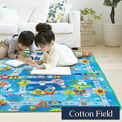 棉花田 海洋假期 遊戲郊遊學步防潮萬用墊(150x180cm)