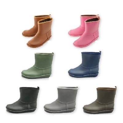日本Charming 短筒時尚雨靴