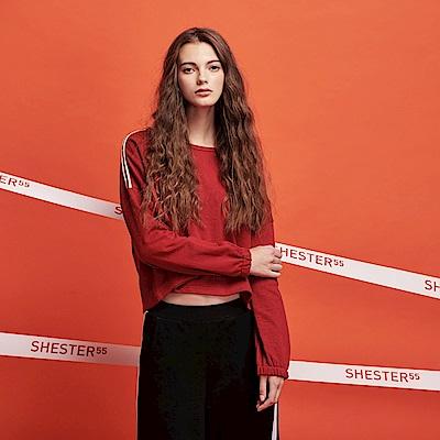 Shester55-側綁裝飾條上衣-女【RSH031】