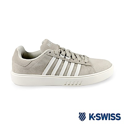 K-Swiss Pershing Court Sde CMF休閒運動鞋-男-米/白