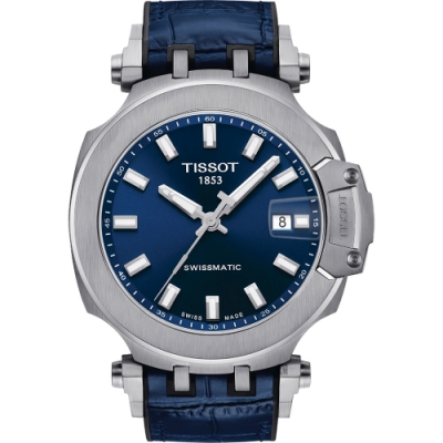 TISSOT 天梭 T-RACE SWISSMATIC 機械錶-45mm T1154071704100