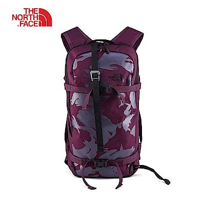 The North Face北面紫色舒適滑雪雙肩後背包 2SAD5WE