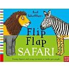 Flip Flap Safari 非洲動物大合體精裝翻頁書(英國版)