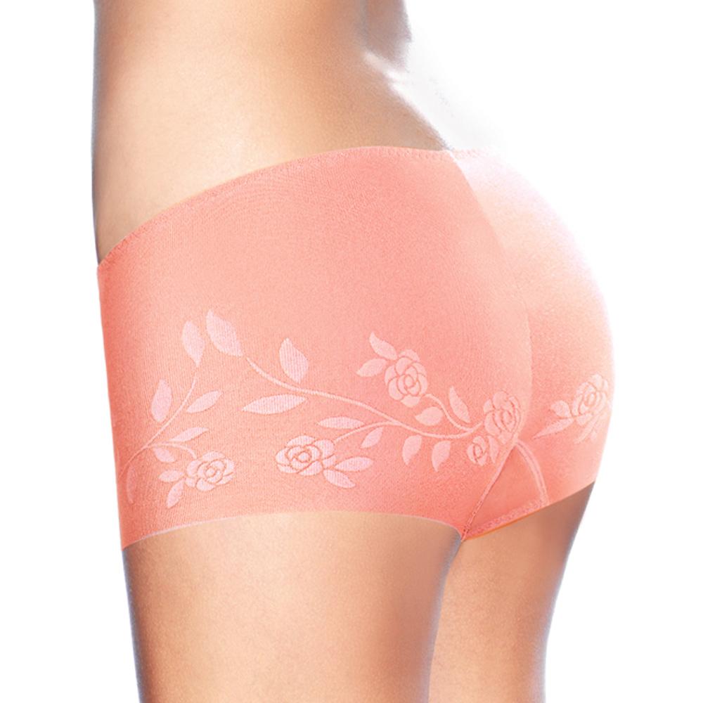 黛安芬-STRETTY小褲零著感系列平口內褲 M-EL 粉