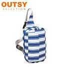 【OUTSY】台灣製獨家限量花色單肩斜背包/腰包/胸包
