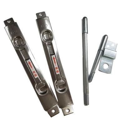 SFC184-1 鋁門用不鏽鋼隱藏式天地閂 防盜鎖 暗閂 天地栓 門鎖門栓