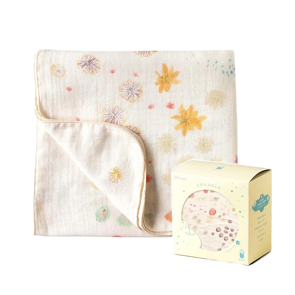 NAOMI ITO 多功能紗布巾-MY FLOWER(盒裝)