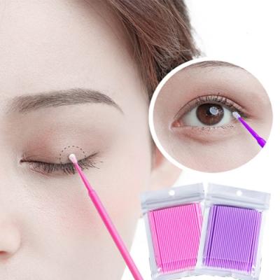 E.dot 睫毛眼線卸妝棉棒100支組(二款選)