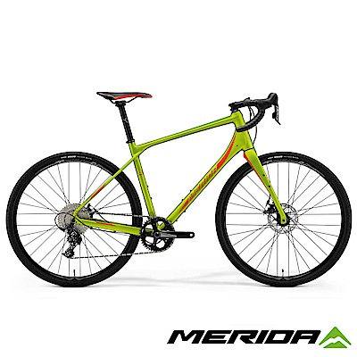 《MERIDA》 美利達 公路車界的登山車 Silex 西利 300 綠 2018