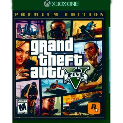 俠盜獵車手5 豪華線上版 GTA5 PREMIUM- XBOX ONE 中英文美版