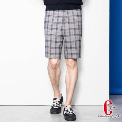 Christian 雅痞生活機能休閒短褲_灰(CS806-1)