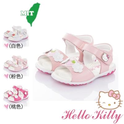 (雙11)Hello Kitty童鞋 手工減壓防滑鞋-桃.粉.白