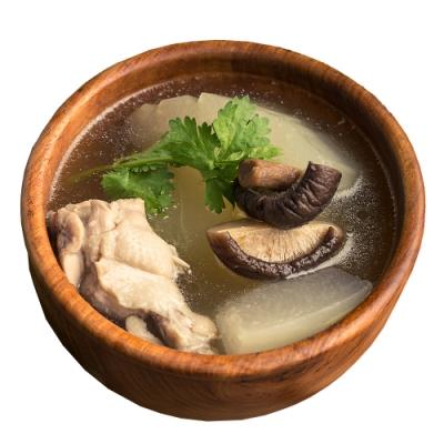 【上野物產】鮮味養身香菇黃金雞湯 (500g土5%/包) x5包